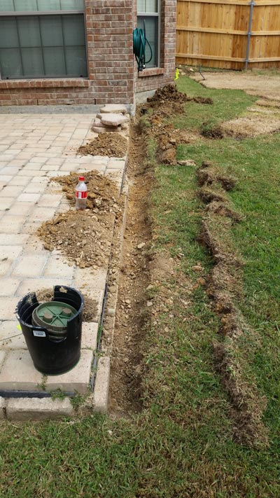 Backyard Drainage Ideas 50 super easy dry creek landscaping ideas you can make Porch Drains Sus House